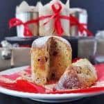 mini cranberry and ginger panettone