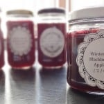 winter spiced blackberry and apple jelly