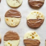 ginger & chocolate shortbread
