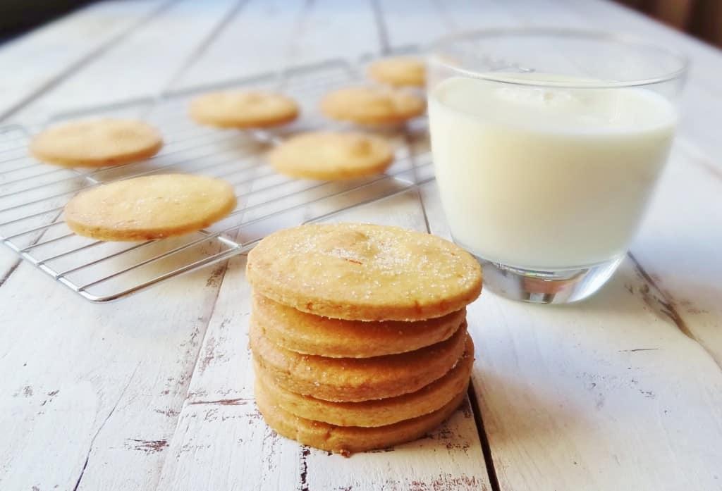 orange polenta biscuits