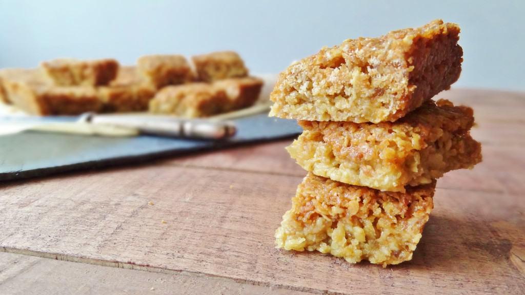 coconut ginger oat bars