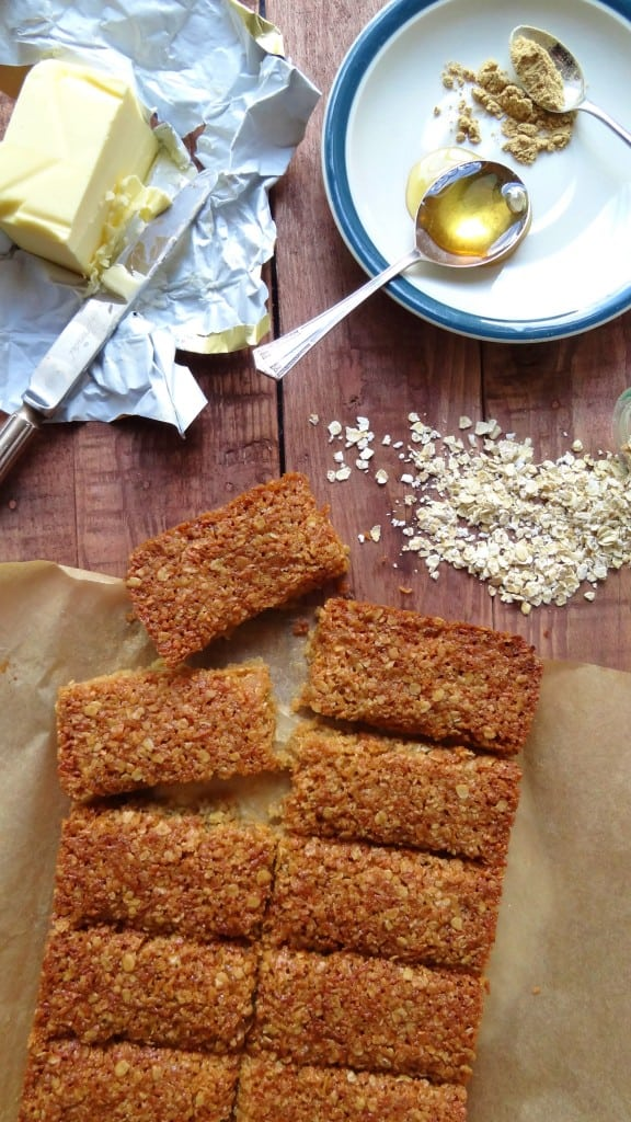 ginger coconut oat bars