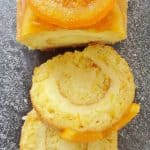 orange almond swiss roll