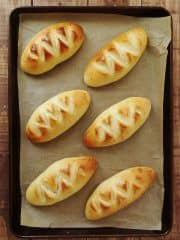 Pain crème - double cream bread rolls
