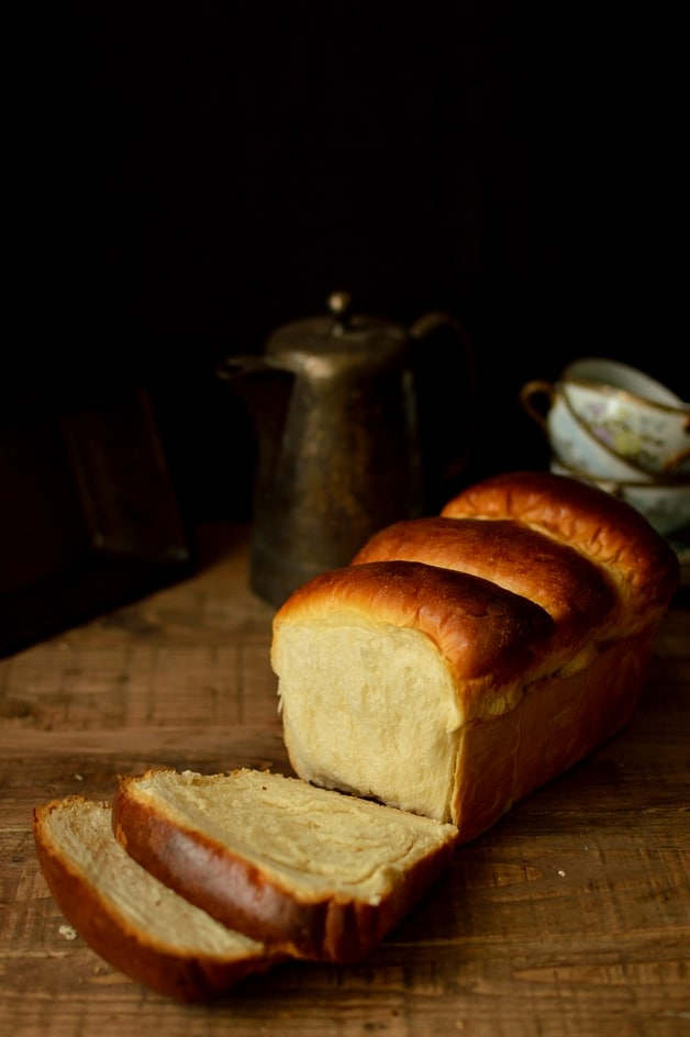 Hokkaido milk bread made with tangzhong - Domestic Gothess