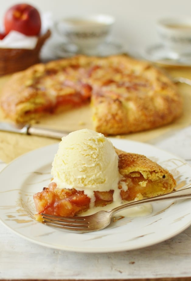 Honey And Nectarine Galette Recipes — Dishmaps