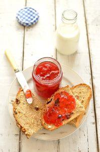 Plum and amaretto jam - Domestic Gothess