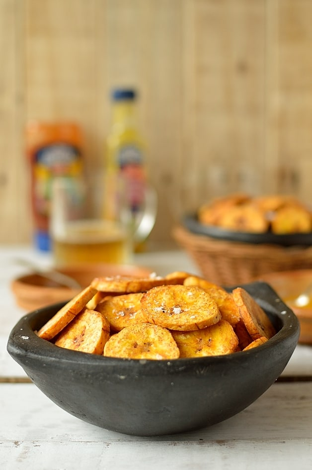 Crisp fried plantain chips - Domestic Gothess