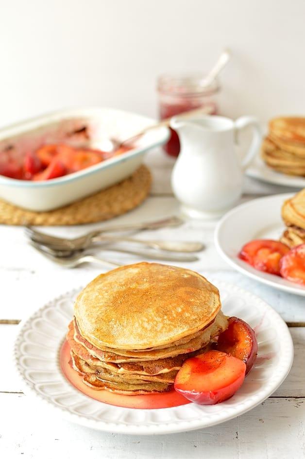 Quinoa Cornmeal Lemon Honey Pancakes Recipes — Dishmaps