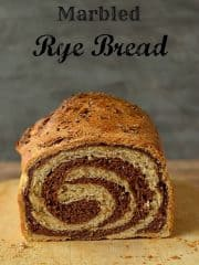 Marbled rye bread recipe - Domestic Gothess