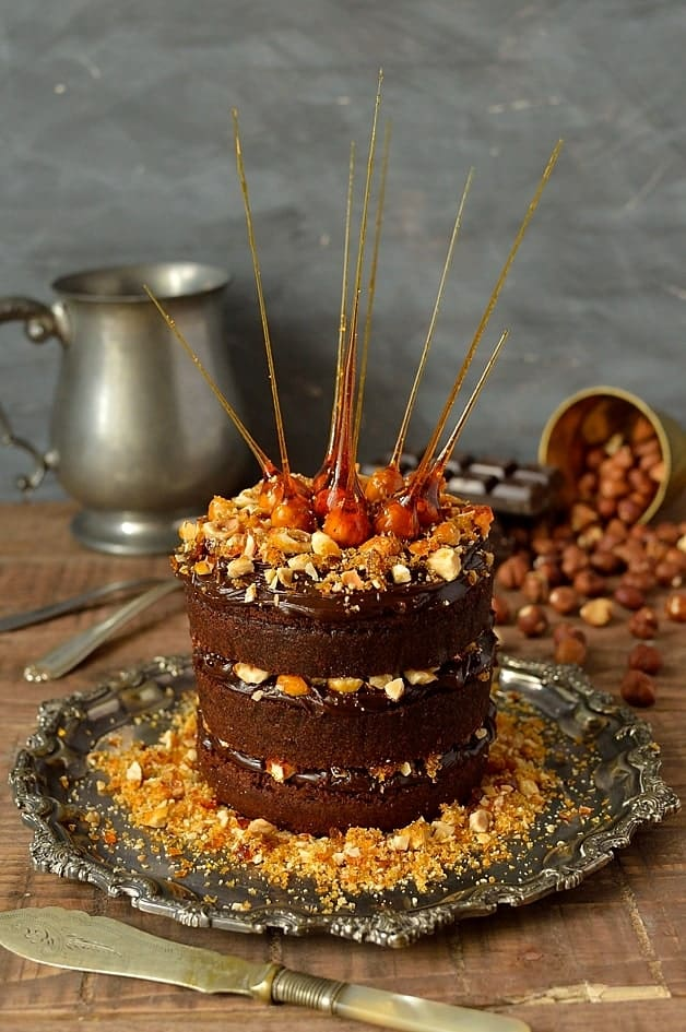 Mini Chocolate Nutella Ganache Amp Hazelnut Praline Layer