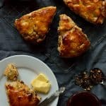 Apple, fig, pecan and honey scones with a hint of spice - Domestic Gothess