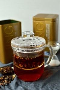 JING tea infuser mug