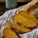 Carrot and caraway seed bread, perfect for sandwiches - Domestic Gothess