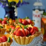 Pimm's fruit tarts - all the flavours of a Pimm's cup cocktail in a tart