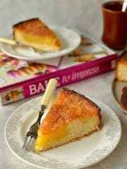Dresden sugar cake - an enriched yeast coffee cake with a crisp, buttery sugar topping