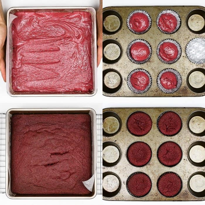 step 4 - baking the cakes