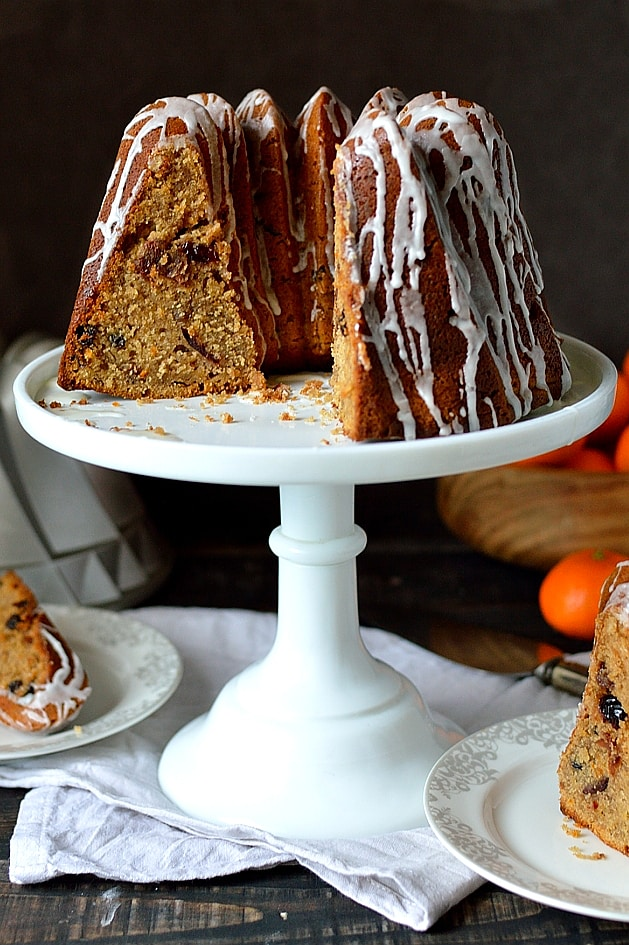 Mincemeat Bundt Cake - Domestic Gothess