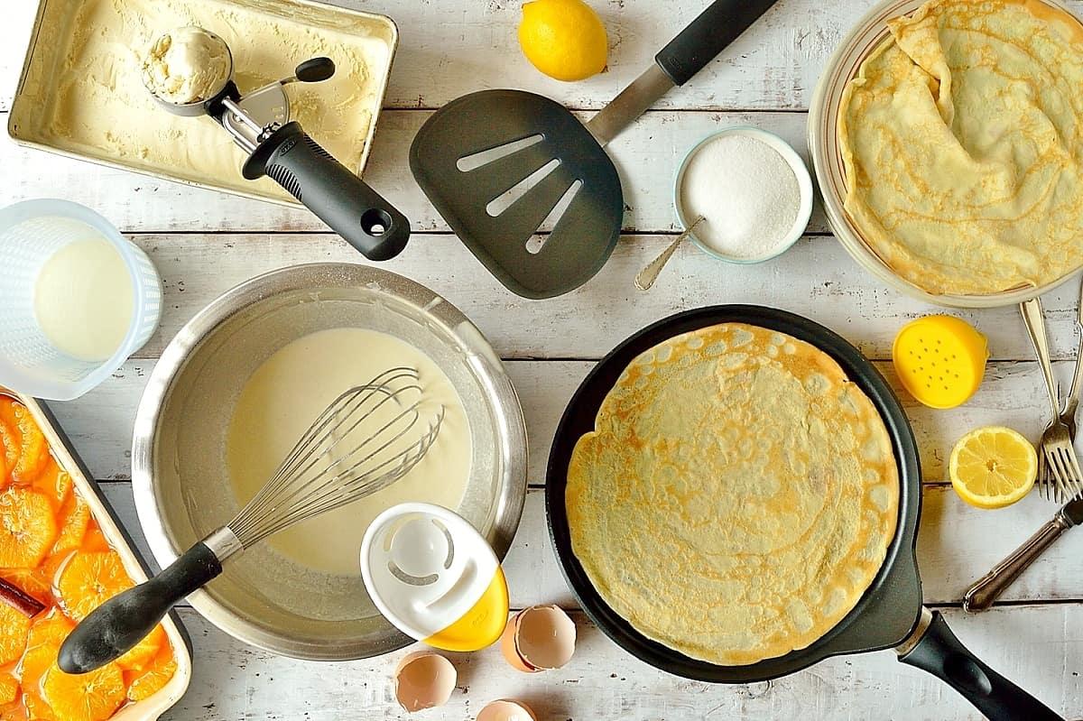 OXO tools for pancake making