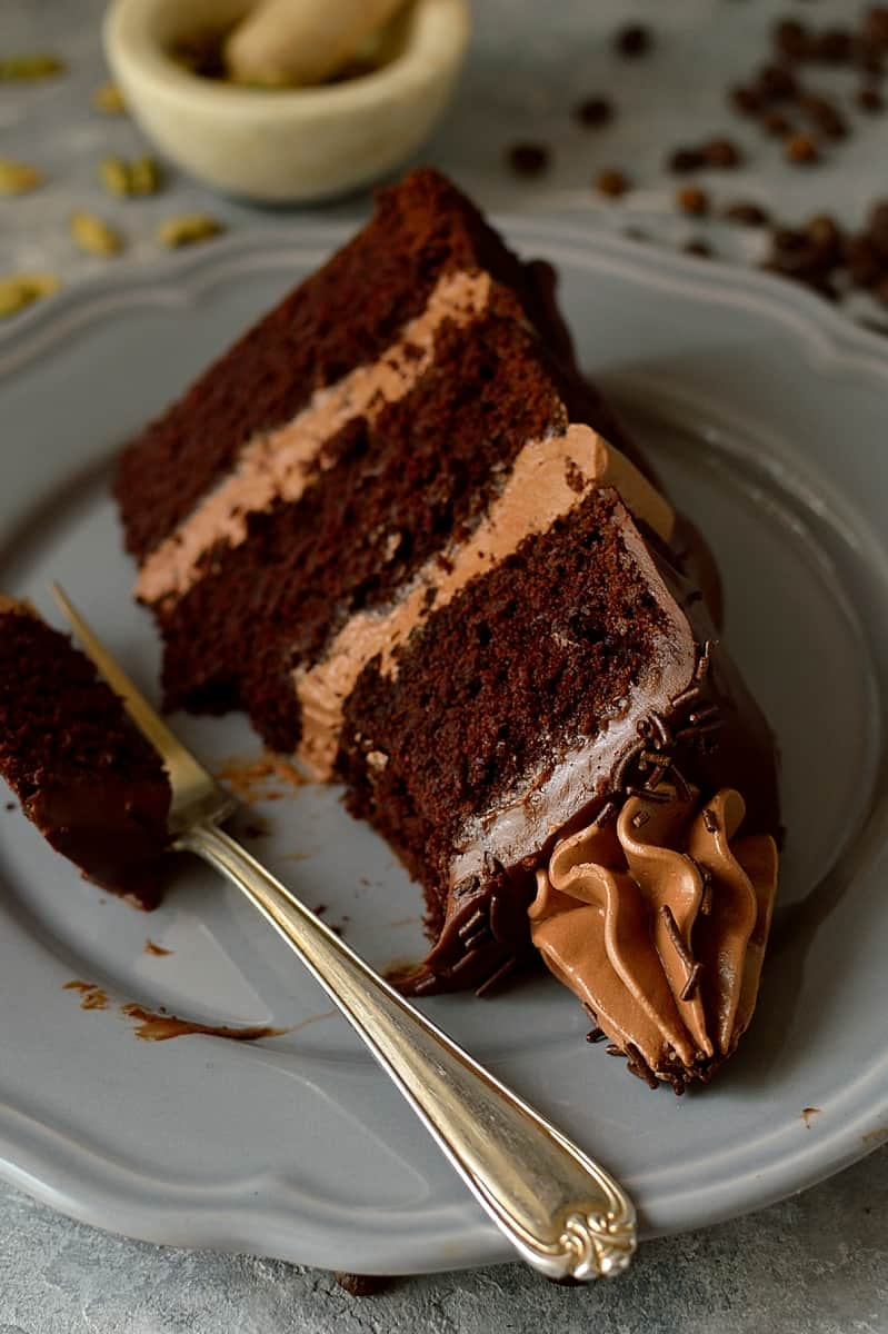 Simple Three Layer Chocolate Cake Recipe