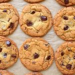 Easy to make chewy chocolate chip cookies.