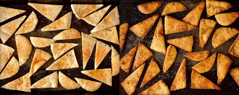 pitta chips step 2