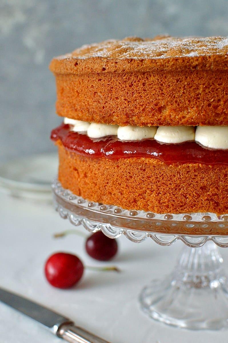 Classic Victoria Sponge Cake Domestic Gothess