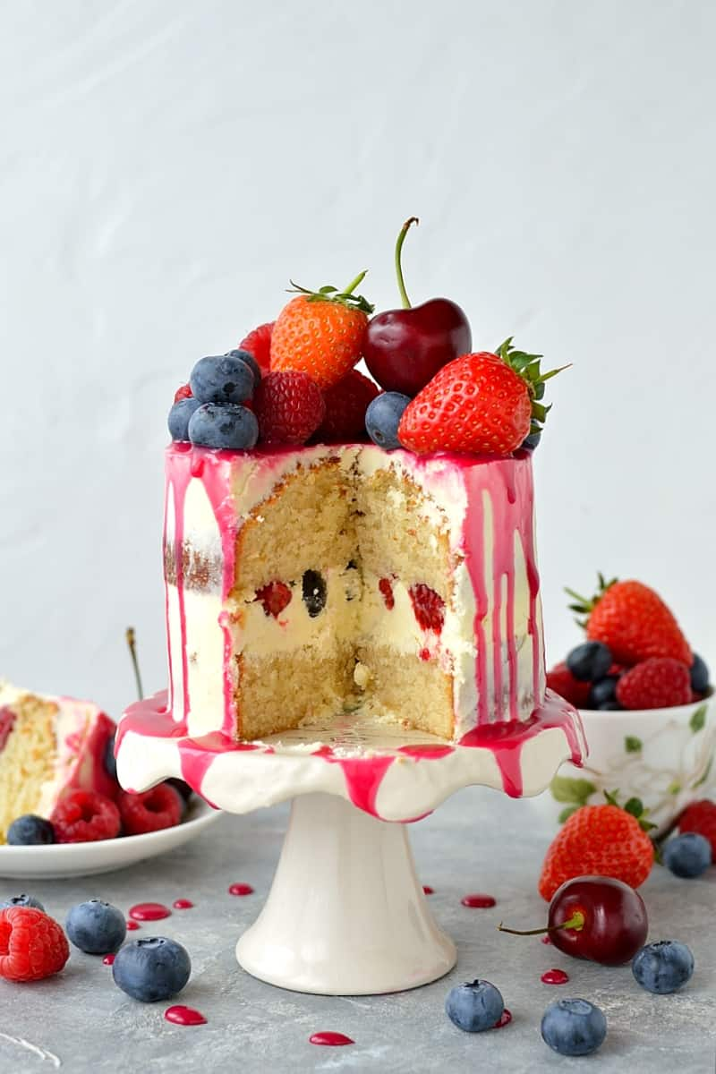 White Chocolate Birthday Cake Ideas