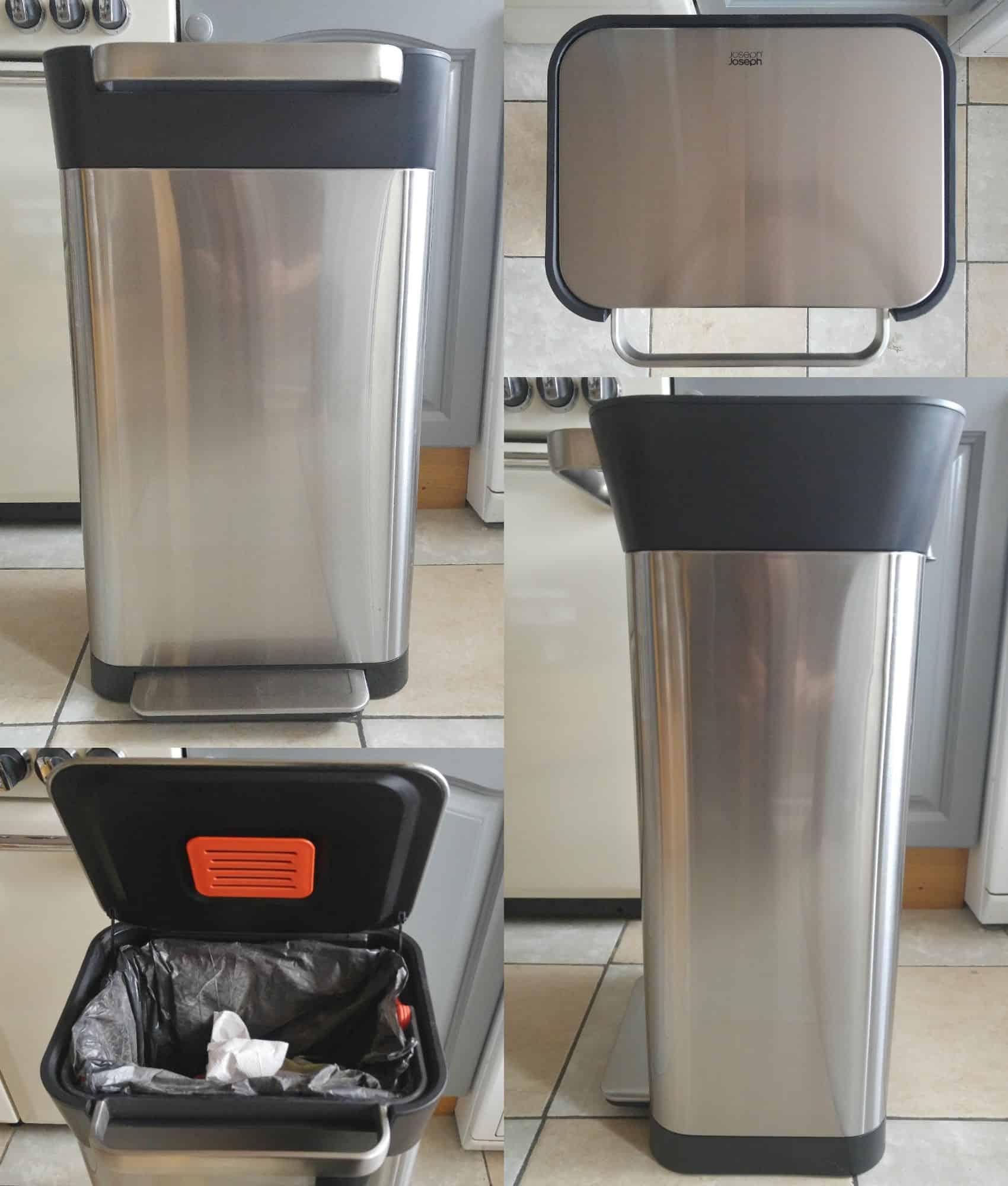 Joseph Joseph Titan trash compactor bin
