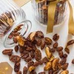Spiced honey roast nuts