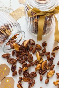 Spiced honey roast nuts