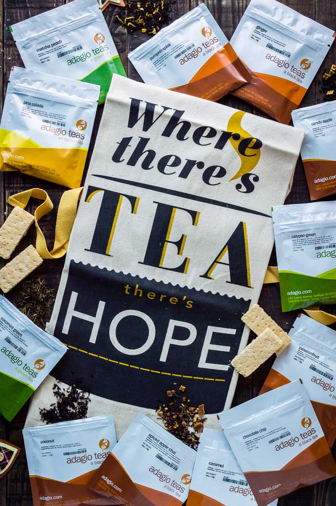 where there's tea there's hope