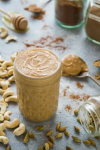 Chai spiced cashew nut butter
