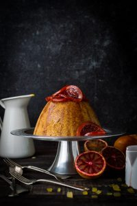 Slow cooker blood orange and ginger steamed pudding - this delicious steamed pudding cooks right in your slow cooker! A perfect dessert for the colder months.