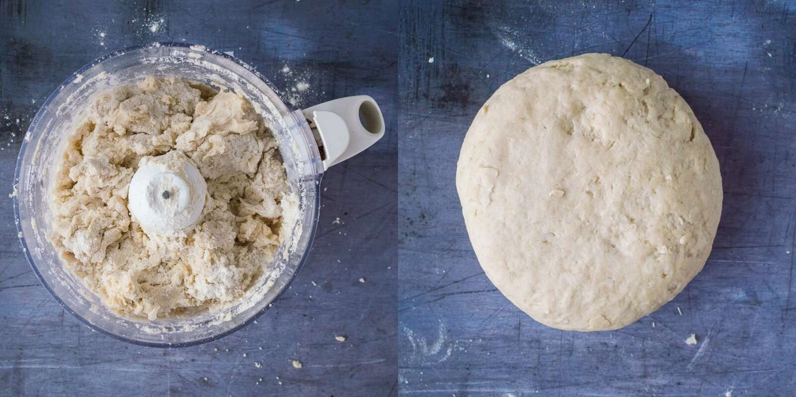 coconut oil pastry step 2