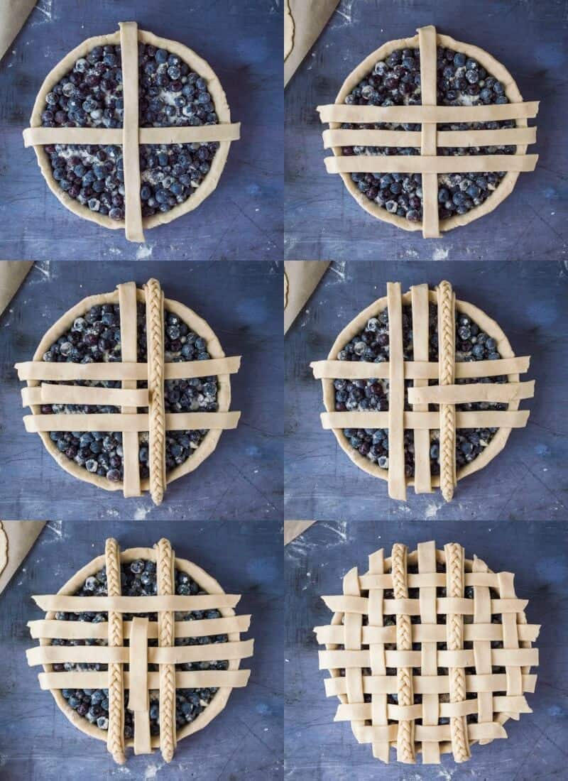 lattice crust step by step