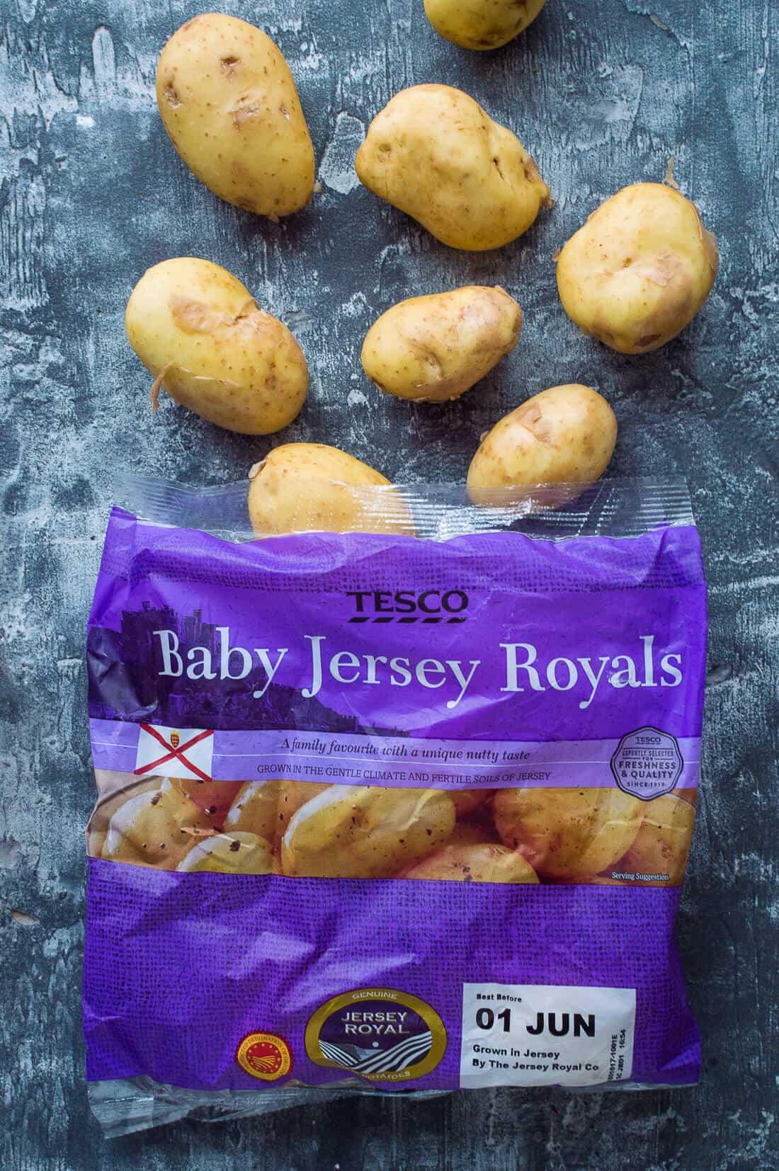 tesco baby jersey royals