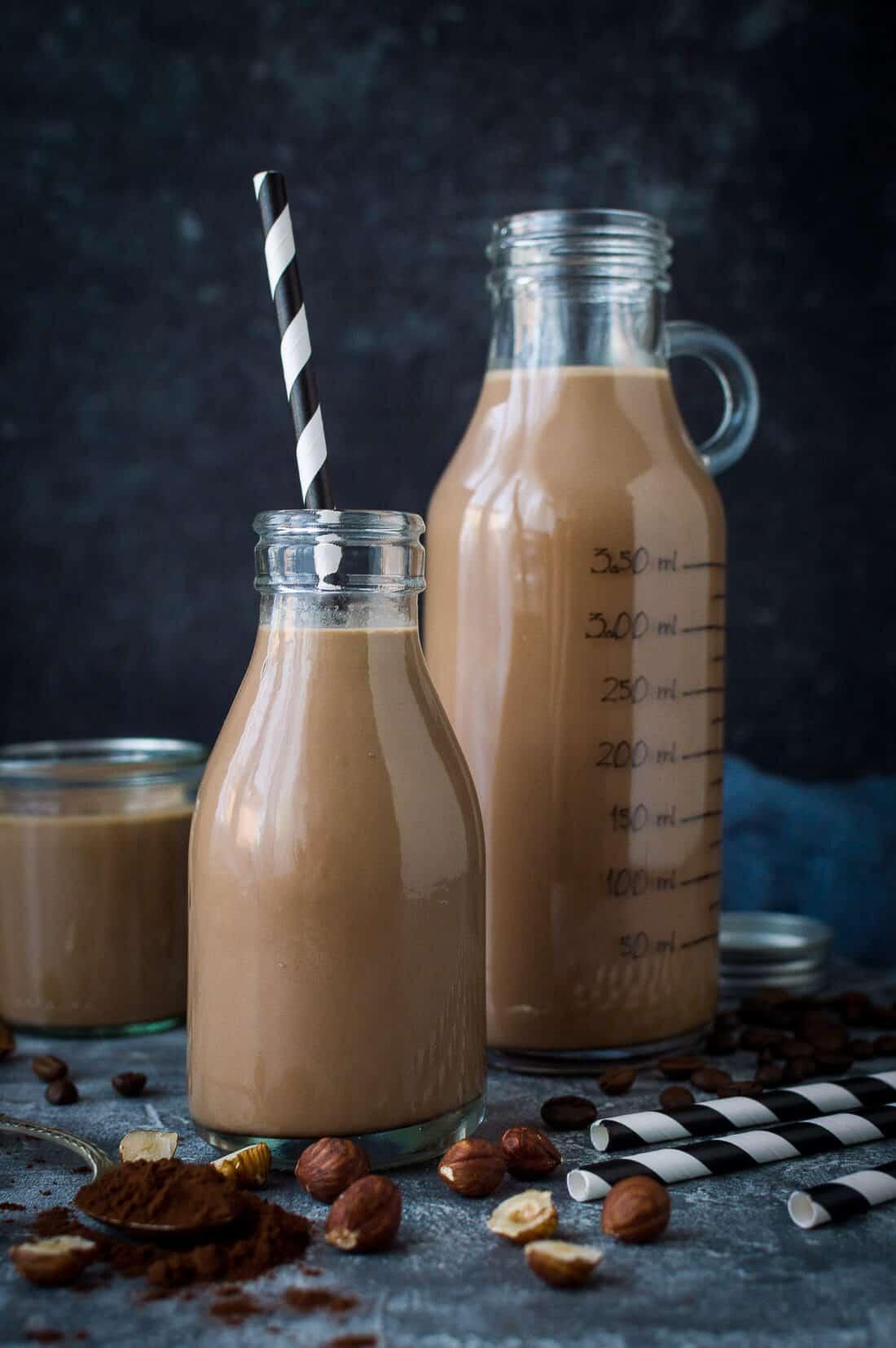 chocolate coffee hazelnut milk