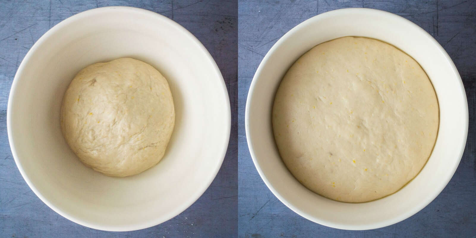 lemon blueberry rolls step 2