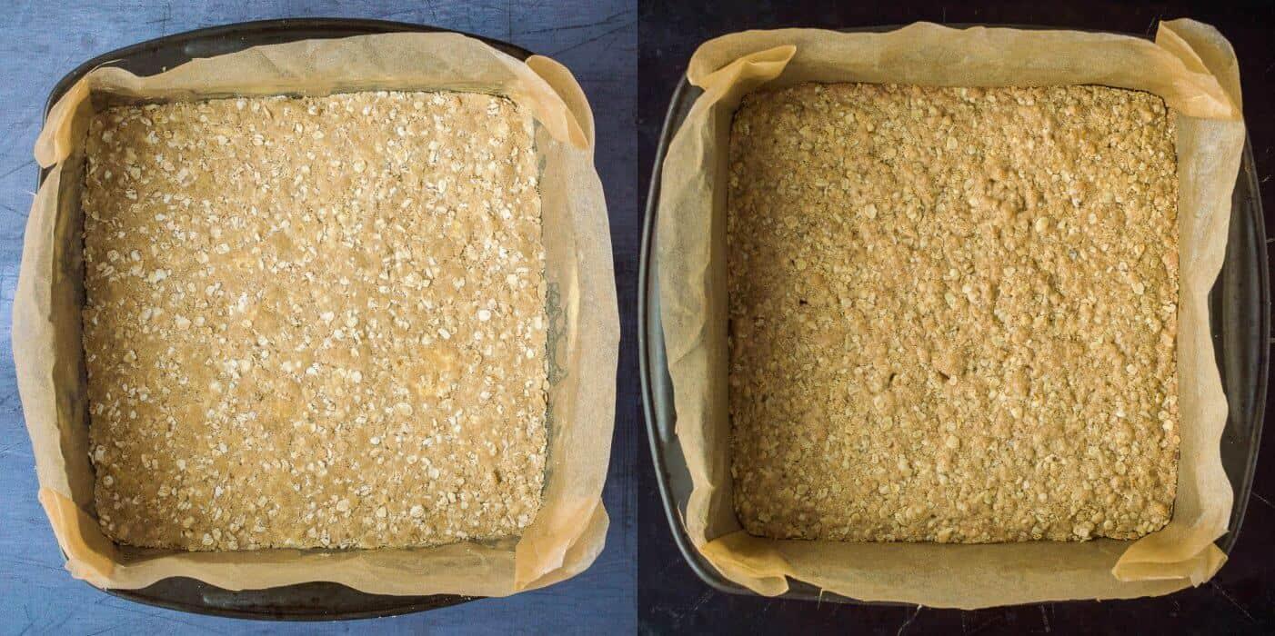 step 2 - baking the base