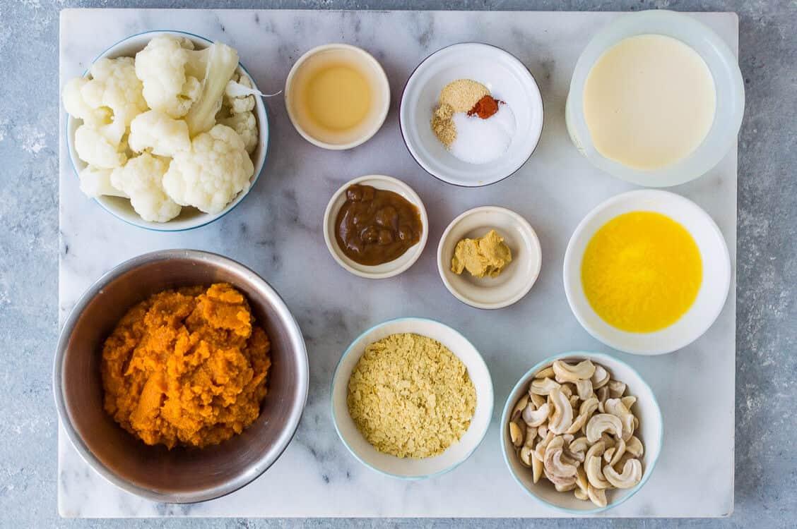 vegan pumpkin mac and cheese ingredients
