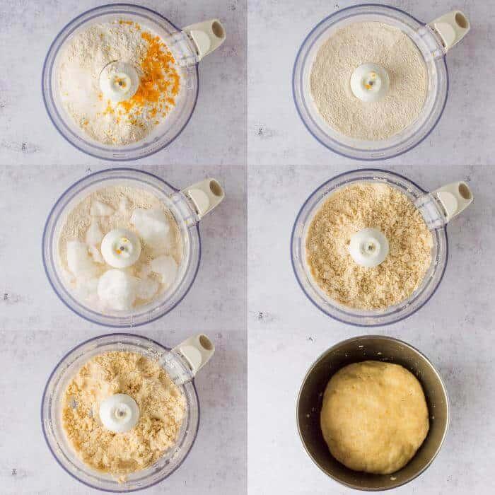 coconut oil pastry steps