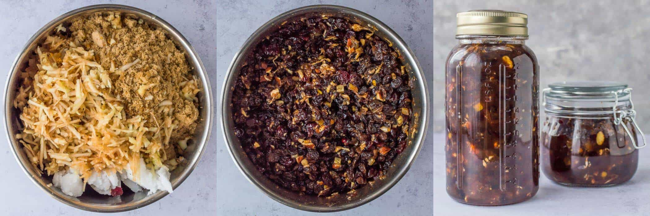 vegan mincemeat steps
