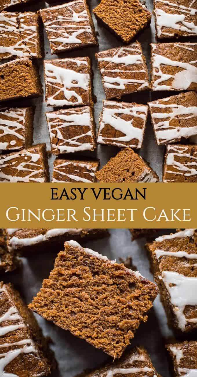 Easy Ginger Cake Vegan Domestic Gothess