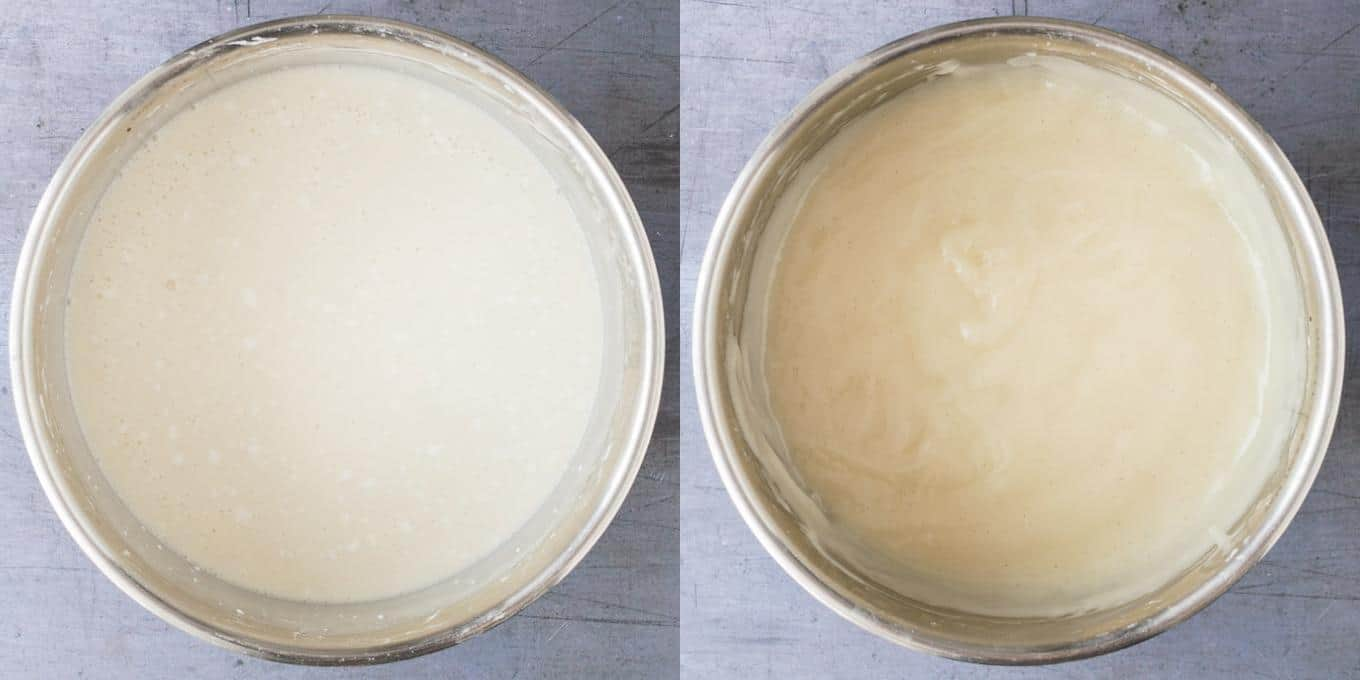 step 3 - cooking the pastry cream