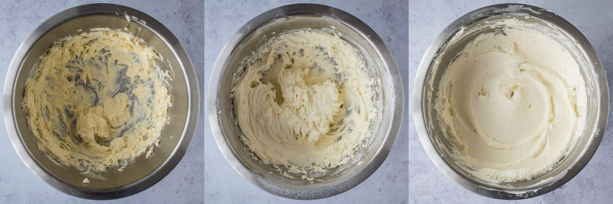 step 3 - making the buttercream.