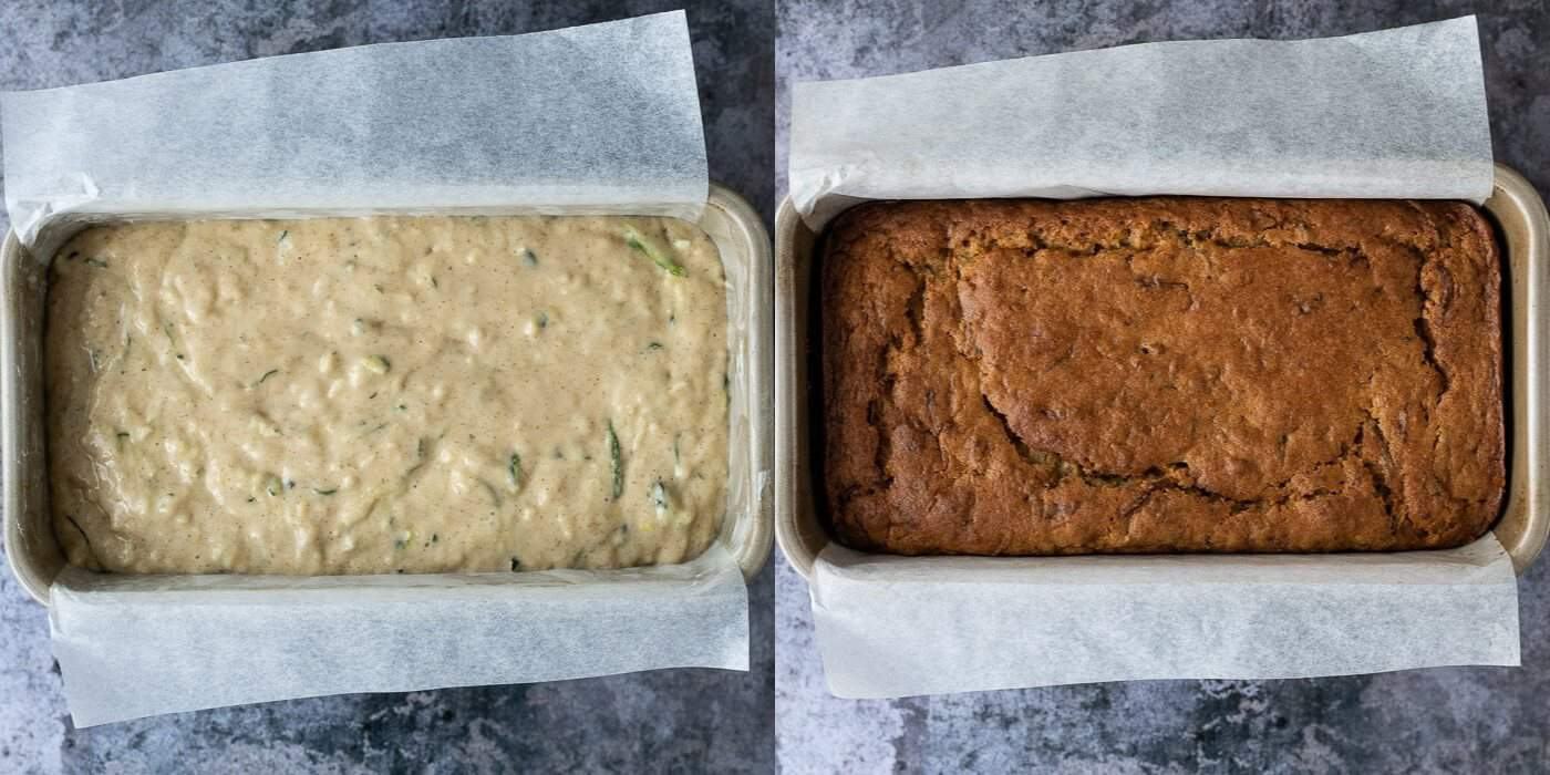 step 3 - baking the cake