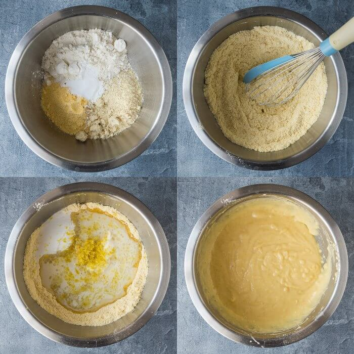 step 1 - making the batter