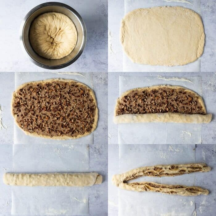 step 4 - shaping the loaf