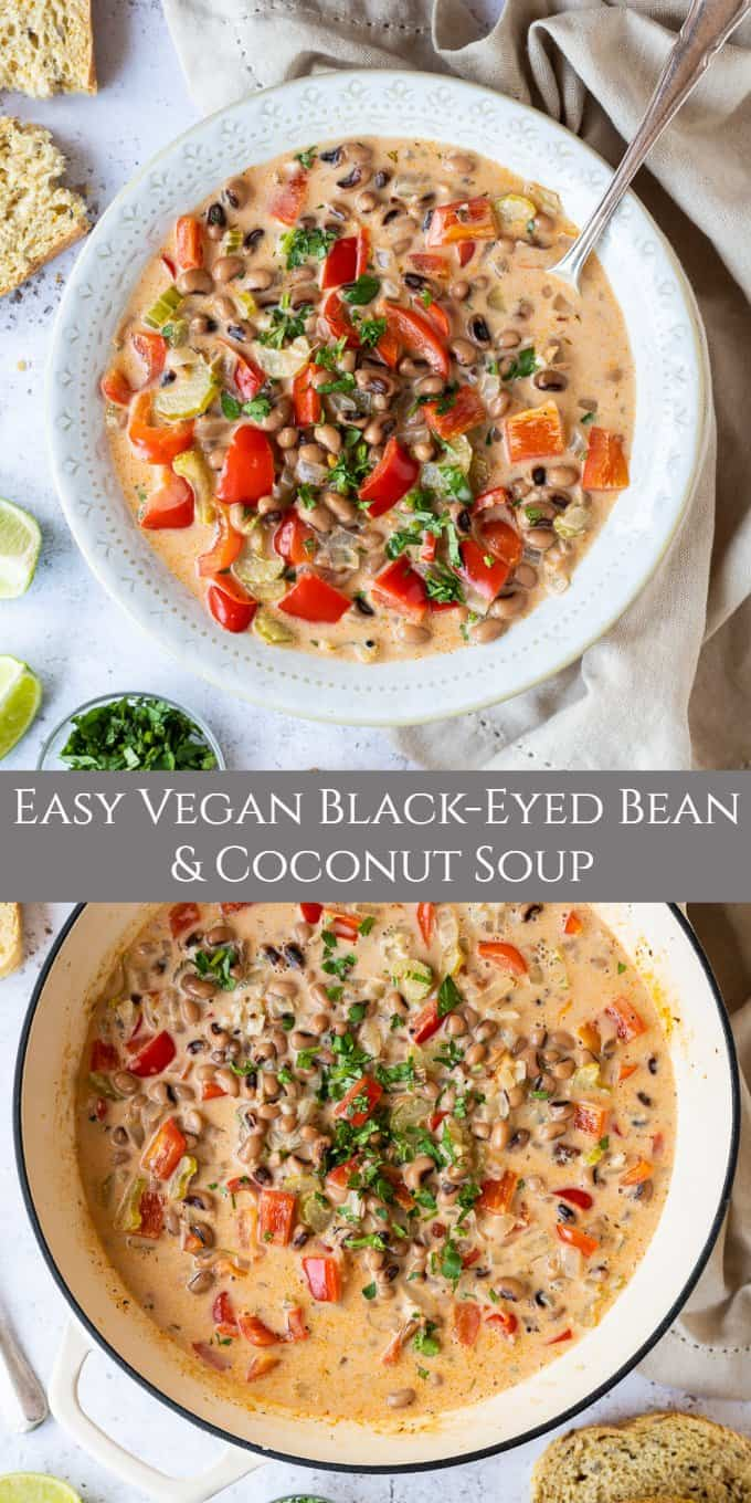 black-eyed bean soup pinterest image